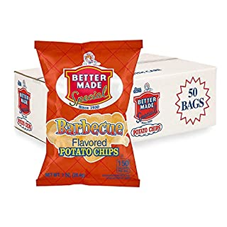 Better Made Special BBQ Potato Chips - Case of 50 - 1oz Bags - Barbecue