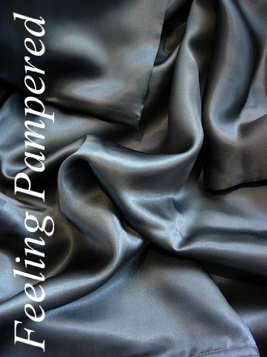 4 Pcs Luxurious 100% Mulberry Silk Charmeuse Sheet Set King