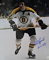 Signed 16x20 Photo Phil Esposito Boston Bruins - Certified Autograph