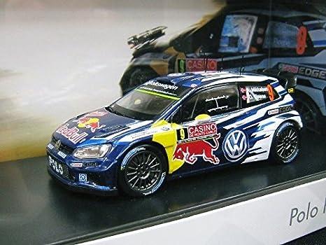 Buy Vw Custom 1 43 Volkswagen Polo R Wrc Casino Rally 9 2015