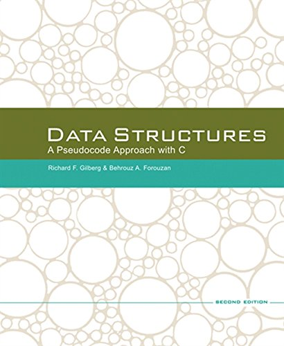 Data Structures: A Pseudocode Approach with C by Cengage Learning