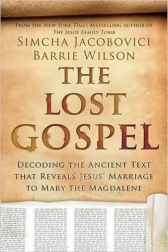 amazon com the lost gospel decoding the ancient text that reveals