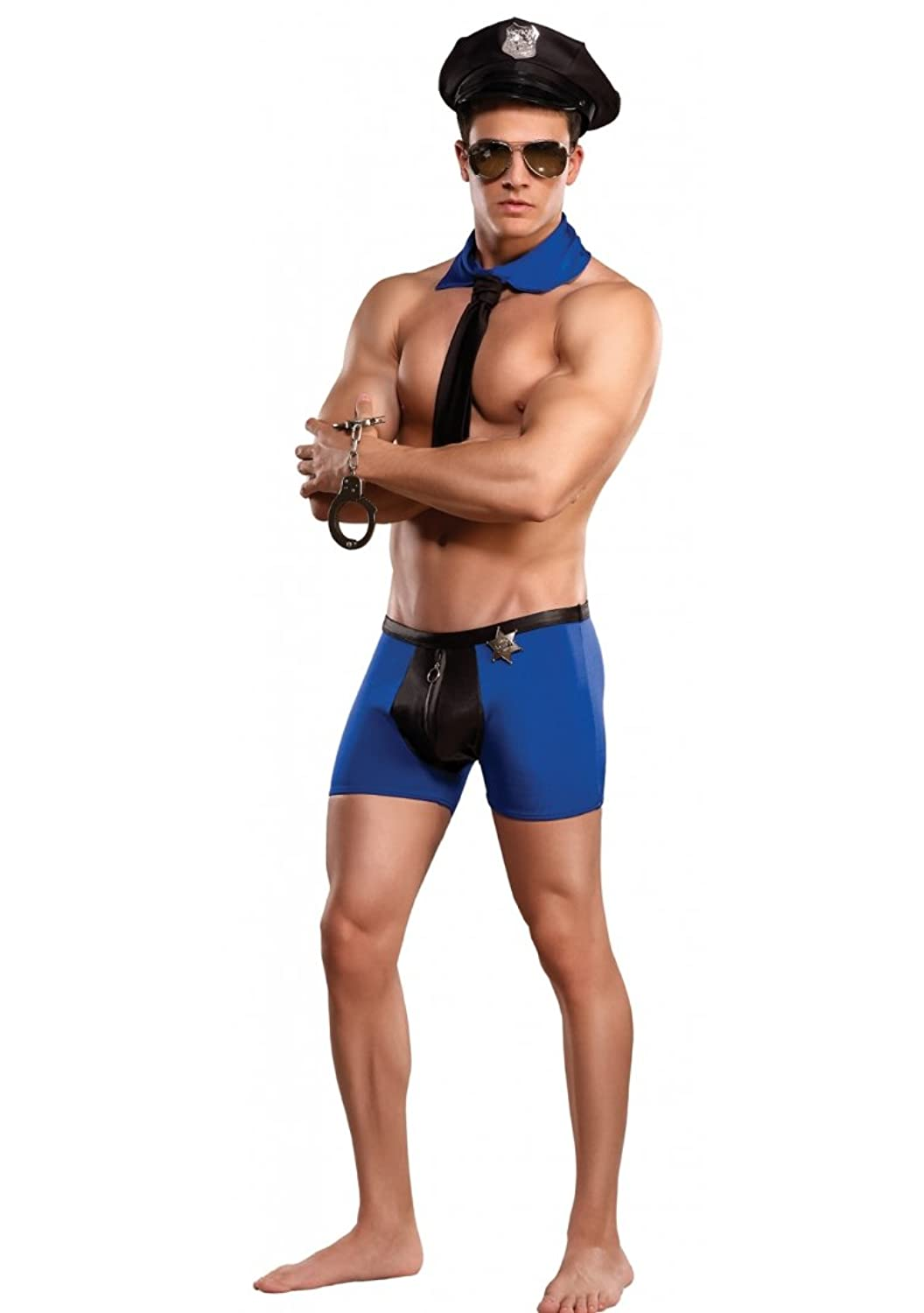 Amazon.com: Officer Frisk-em Mens Bedroom Costumes: Adult Exotic ...