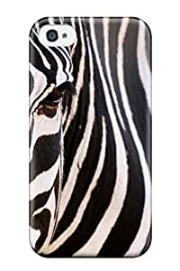 BakerCooleya Fashion Protective Zebra Animal Other Case Cover For Iphone 4/4s