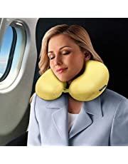 Novo Synthetic White Standard Neck Pillow, 30 x 30-1 Piece
