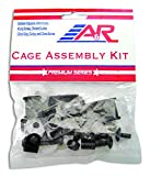 hockey helmet replacement parts - A&R Sports Hardware Cage Assembly Kit