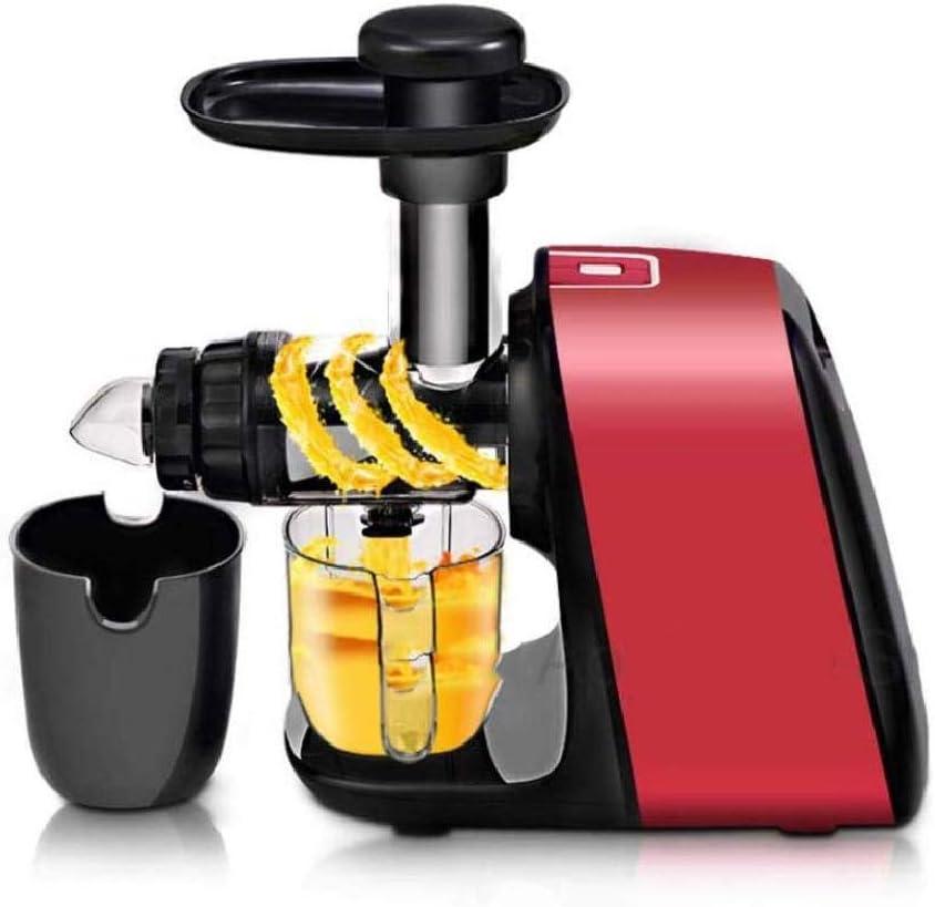 ZTTTD Frutas y Verduras Exprimidor -Sincronización Masticating Exprimidor de Frutas y Verduras, fácil de Limpiar Hight nutrientes Cold Press Exprimidor Máquina