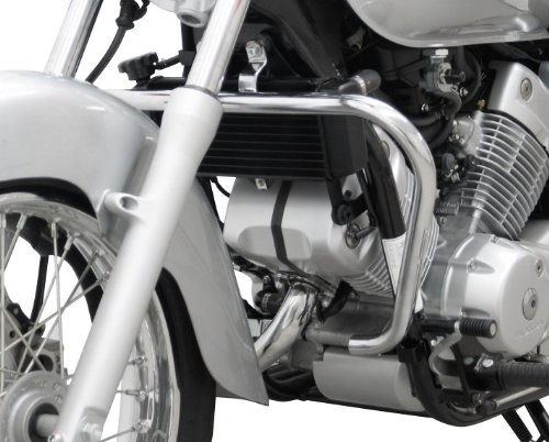 Defensa de motor Fehling Honda VT125 C// VT125 C2 Shadow 99-08 plata