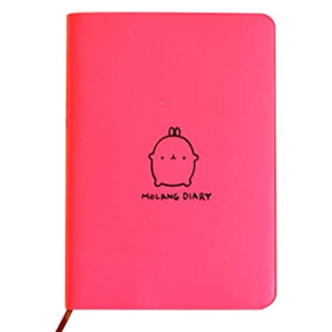 Cute Kawaii Cartoon Conejo Cuaderno Agenda Diario Diario ...