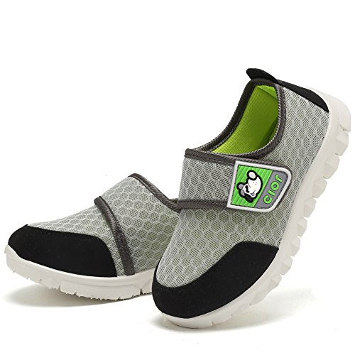 CIOR Kid's Mesh Lightweight Sneakers Baby Breathable Slip-On For Boy and Girl's Running Beach Shoes(Toddler/Little Kid) 29