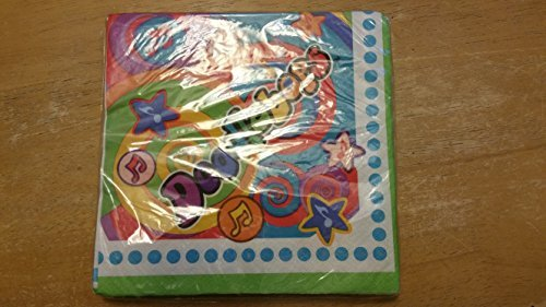 Doodlebops Birthday Party Napkins 16 Ct