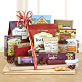 Premium Foods Cheese and Crackers Gift Set with Cutting Board