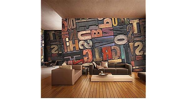 Fotomurales Gigante 3D Foto De Papel Tapiz Carta Número Mural De ...