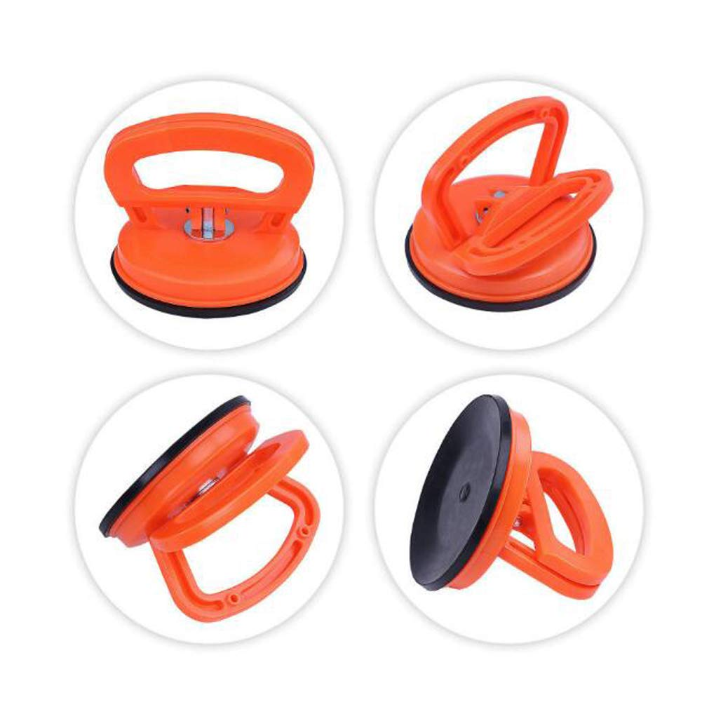 Double Handle Locking Marsauto Vacuum Suction Cup Glass Lifter 5 Car Dent Puller Gripper Sucker Plate Vacuum Lifter for Glass//Tiles//Mirror//Granite Lifting
