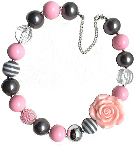 Bubblegum Necklaces (Light Pink & Grey)