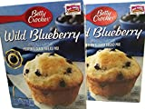 Betty Crocker Wild Blueberry Muffin Mix 16.9oz 2-boxes