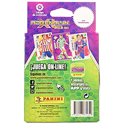 La Liga Santander- Adrenalyn Cards (Panini 9788427871649): Toys & Games