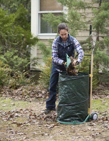 Gardener's Supply Company Mobile Leaf Collector ()