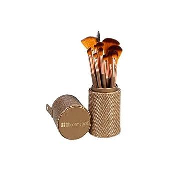 Shimmering Bronze 12 Teiliges Pinselset Von Bh Cosmetics Amazon