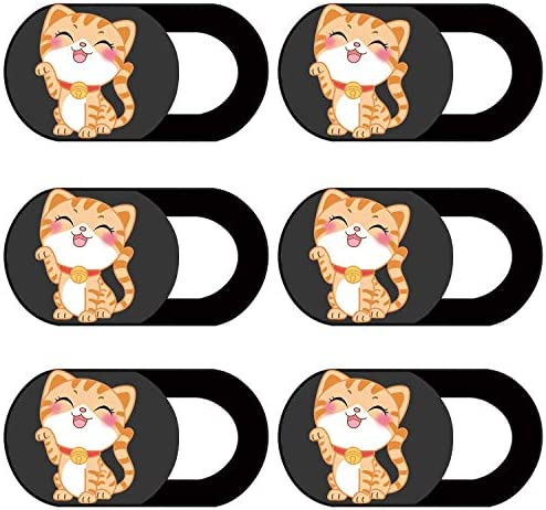 iMac Computer Webcam Cover Laptop Camera Cover Ultra Thin Slide for Laptop Desktop Mac Mini MacBook Pro PC Dog Pattern Smartphone,Protect Your Privacy and Security AHPAND