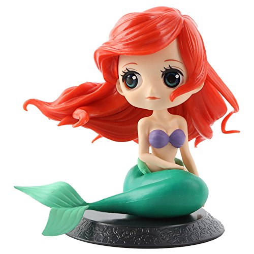- Cute Big Eyes Mermaid Doll Cake Toppers Birthday Cake Decoration Wedding Party Supplies