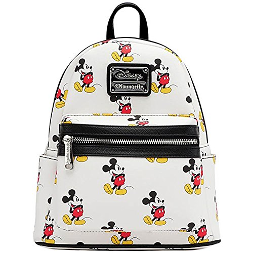 Loungefly Mickey All Over Mini Backpack