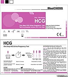 10 miu Super Early Pregnancy Test Strips High Sensetivity, 25 counts