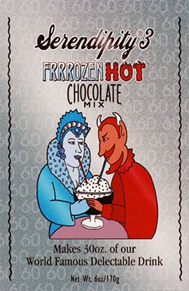 Serendipity 3 Chocolate Hot Chocolate (Serendipity 3 Frrrozen Hot Chocolate Mix (6 Large Packs))