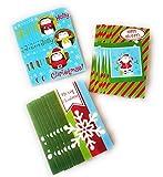 24 Christmas Money Checks & Gift Card Holders With
