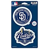"MLB San Diego Padres WCR62526014 Magnets (2 Pack), 5"" x 9"""