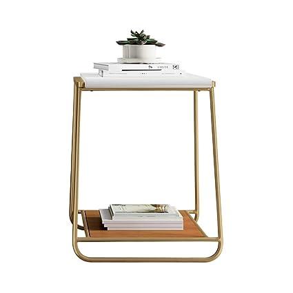 Astounding Amazon Com Zhfha 2 Tier Side Sofa Tablesmall Coffee Table Ncnpc Chair Design For Home Ncnpcorg