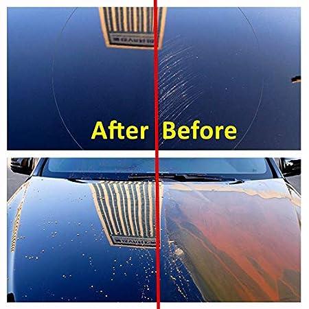 Tratamiento de Agente a Prueba de Lluvia con Recubrimiento Nano hidrófobo de cerámica/Vidrio para automóviles, Mantenimiento de vidrios y Parabrisas de ...