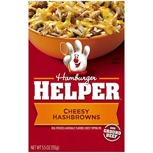 Betty Crocker Hamburger Helper, Cheesy Hashbrowns Hamburger Helper, 5.5 Oz Box