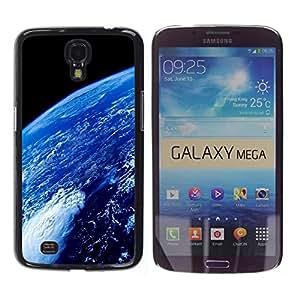 TopCaseStore / la caja del caucho duro de la cubierta de protección de la piel - Space Planet Galaxy Stars 69 - Samsung Galaxy Mega 6.3 I9200 SGH-i527