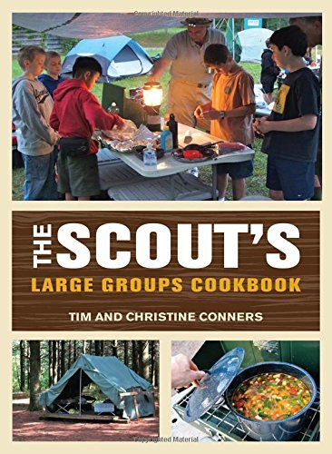 Scout's Large Groups Cookbook by Christine Conners (2012-03-20)