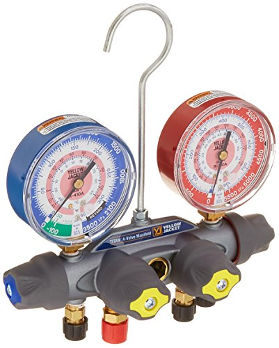 yellowjacket refrigerant gauges - 8