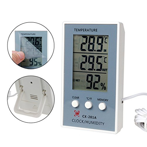 thermometer hygrometer temperature humidity measurer