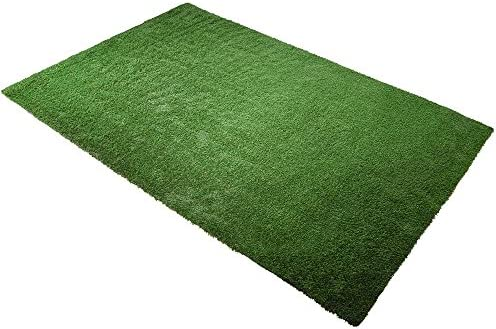 Yescom Indoor Outdoor 10ft x 6.6ft Fake Grass Artificial Mat, Green