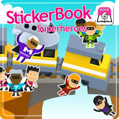 Sticker Book 6: Superheroes (Heroes And Villains Outfits)