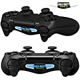 Mod Freakz Pair of LED Light Bar Skins COD MW War Duty Symbol for PS4 Controllers