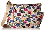 Vera Bradley Women's Lighten Up RFID Laptop Messenger Crossbody Purse, Rumba, One Size