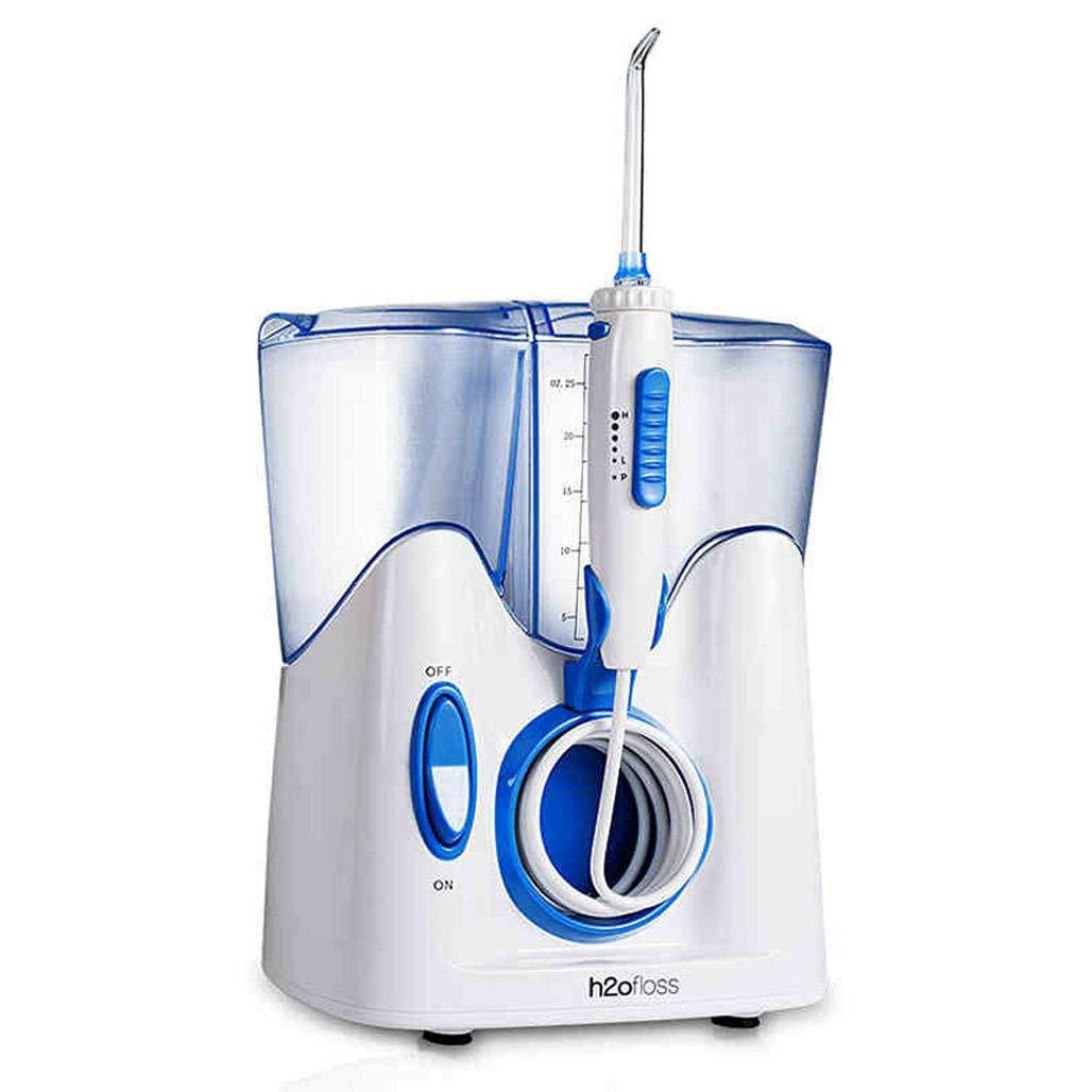 ウォーターピック6つのモード、12のジェット機のノズルおよび800ml貯蔵所の世帯の携帯用理性的な歯のクリーニング装置が付いている歯のための水フロッサーの歯科口頭洗浄器 B07T2D7P66