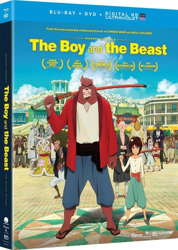Blu-ray : The Boy and The Beast (With DVD, Ultraviolet Digital Copy, 2 Pack, 2 Disc)