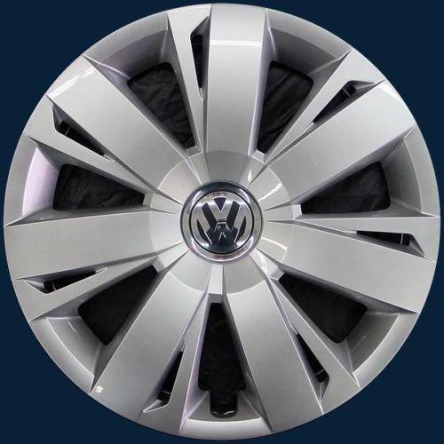 Genuine Wheel Center Hub Cap Chrome Black For VW Jetta Mk6 11- 5C0601147AQLV Vw Hubcap