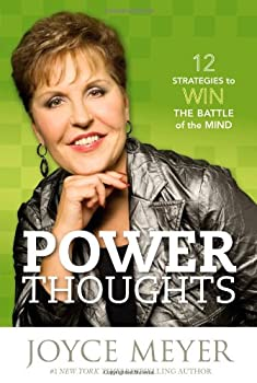 Power Thoughts: 12 Strategies to Win the Battle of the Mind 0446580368 Book Cover