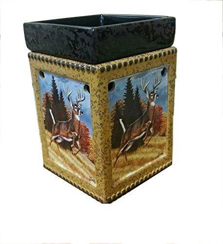 1 X Ceramic Deer Tart / Oil Warmer Lamp by Vista Wholesale