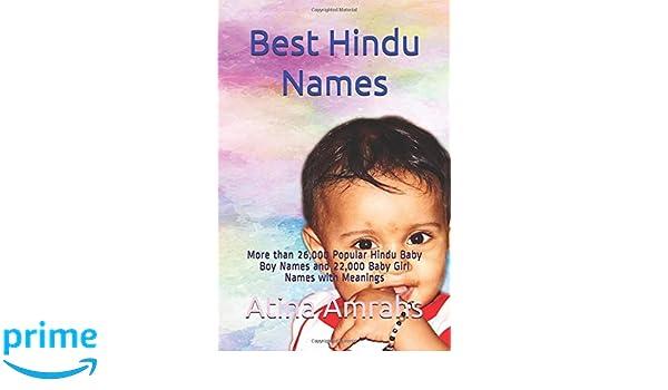 Amazon Com Best Hindu Names More Than 26 000 Popular Hindu Baby