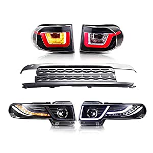 Amazon Com Mostplus Led Halo Projector Headlights