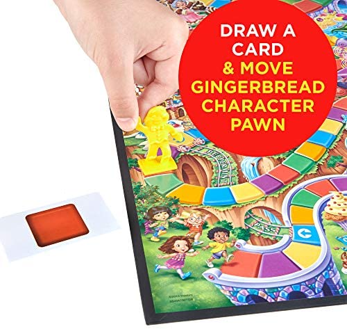 toys, games, games, accessories,  board games 8 image Hasbro Gaming Candy Land Kingdom Of Sweet Adventures in USA