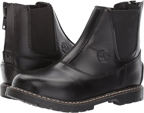 Old West English Kids Boots Unisex Champ (Toddler/Little Kid) Black 11 M US Little Kid ()